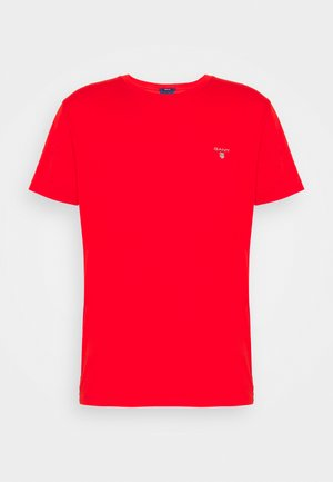 THE ORIGINAL - Basic T-shirt - lava red