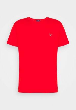 THE ORIGINAL - T-shirt - bas - lava red