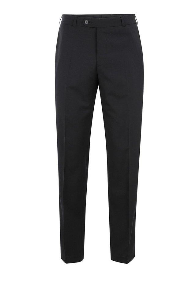 UDINE MIT KOMFORTBUND - Suit trousers - schwarz