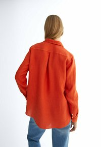 Massimo Dutti - Button-down blouse - red - 1