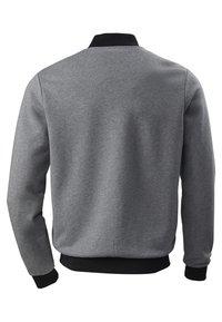 Phyne - veste en sweat zippée - dark grey - 4