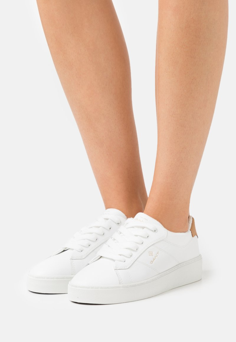 GANT - LAGALILLY - Trainers - bright white/tan