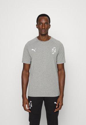 NEYMAR JR EVOSTRIPE TEE - Print T-shirt - medium gray heather