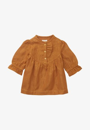 Day dress - brown/gold