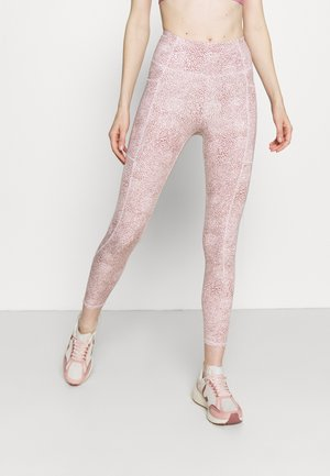 LIFESTYLE POCKET - Leggings - dusty rose