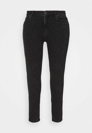 PCLILI  - Skinny džíny - black denim