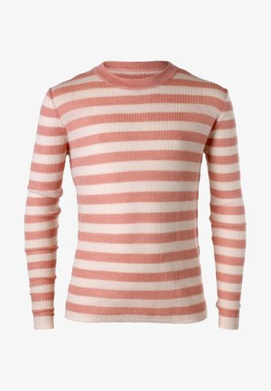 Long sleeved top - dusty pink