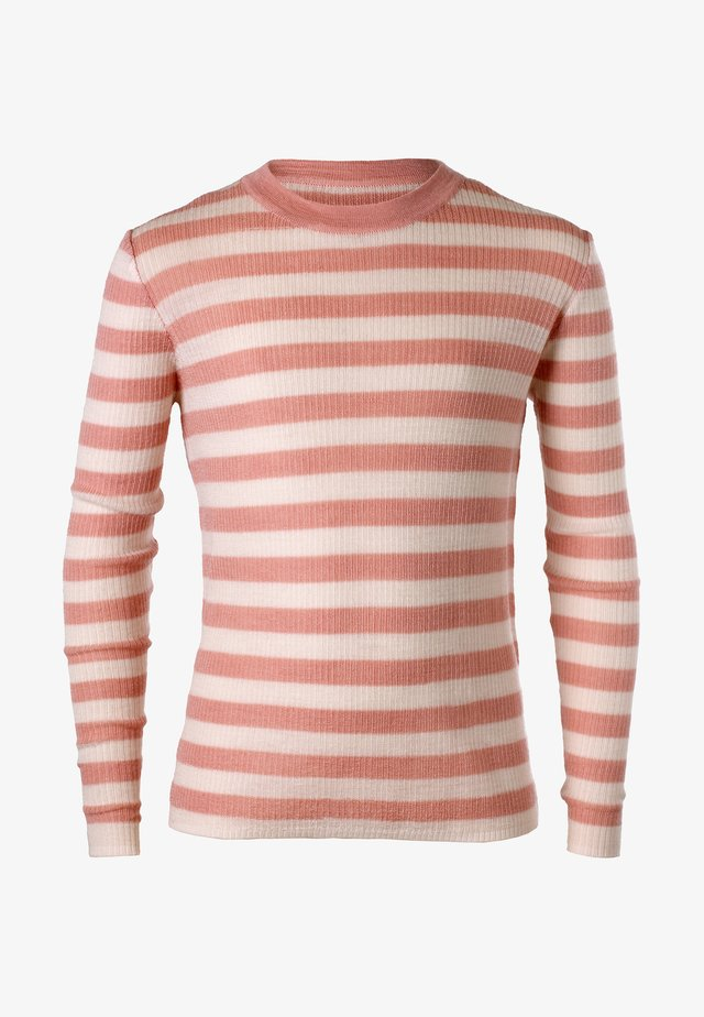 Langærmede T-shirts - dusty pink