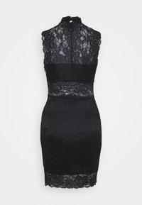 Guess - FLORAL BAND - Cocktail dress / Party dress - jet black - 1