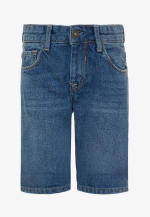ZAC - Denim shorts - denim medium indigo wash