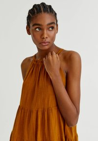 PULL&BEAR - Day dress - mottled beige - 2