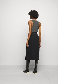 MM6 Maison Margiela - A-line skirt - black - 2