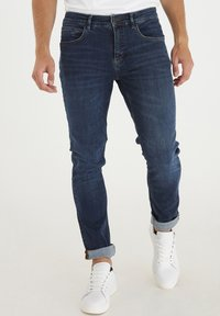 Casual Friday - Slim fit jeans - denim mid blue - 0