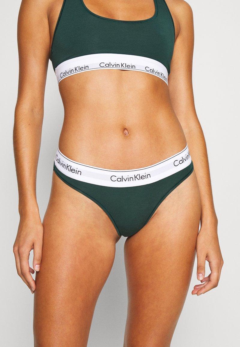 Calvin Klein Underwear - MODERN THONG - String - camp