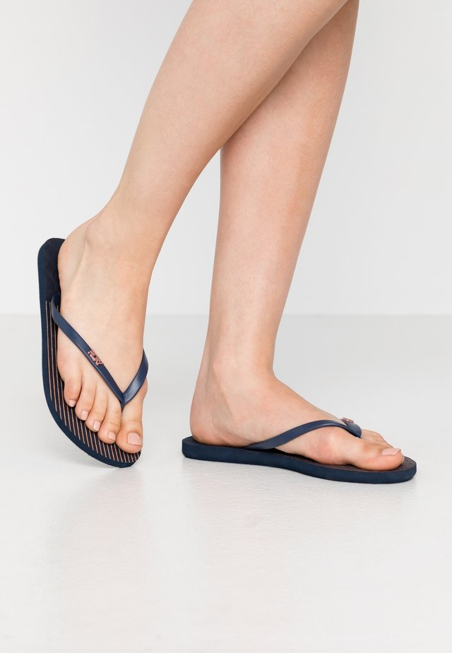 VIVA STAMP  - Chanclas de dedo - navy