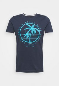s.Oliver - Print T-shirt - dark blue - 3