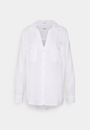 ASIA UTILITY - Button-down blouse - white