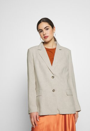 LOOSE  - Short coat - beige
