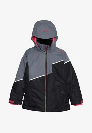 GIRL JACKET FIX HOOD - Skidjacka - nero
