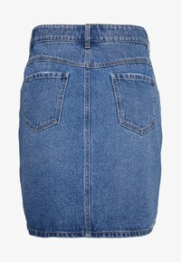 Dorothy Perkins Curve - MINI SKIRT - Denim skirt - indigo - 1