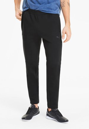 PUMA SCUDERIA FERRARI KNITTED MEN'S SWEATPANTS MAN - Tracksuit bottoms - puma black