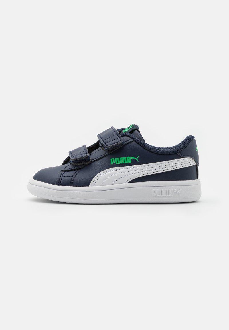 Puma - SMASH UNISEX - Baby shoes - peacoat/white