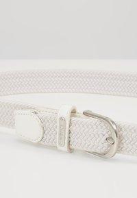 Daily Sports - GISELLE ELASTIC BELT - Belt - white - 4