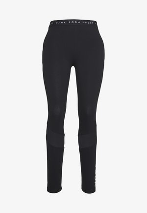 ROWE LEGGING - Tights - black