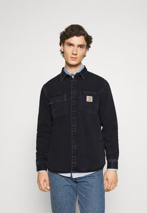 SALINAC MAITLAND - Shirt - black stone washed