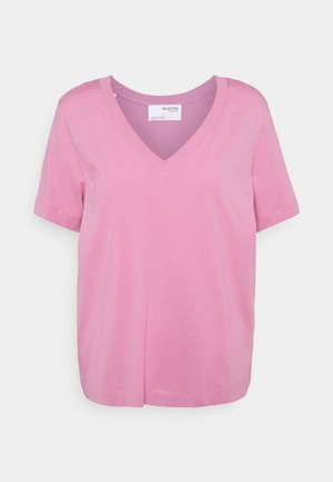 SEASONAL - Basic T-shirt - opera mauve