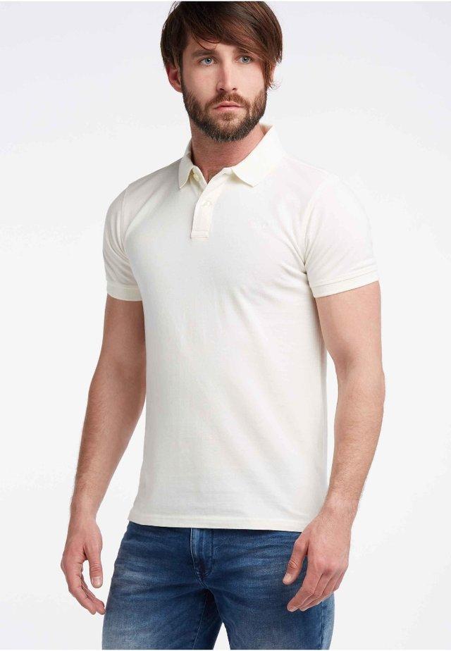 Poloshirt - chalk white