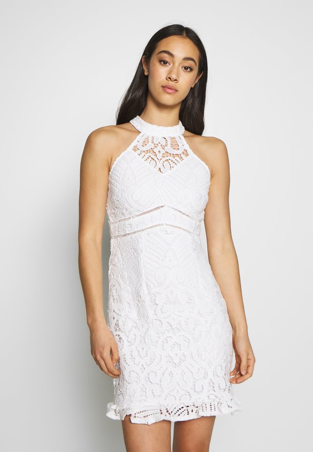 LAETITIA DRESS - Juhlamekko - white