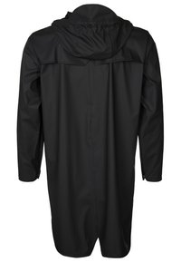 Rains - LONG JACKET UNISEX - Vodotěsná bunda - black - 1