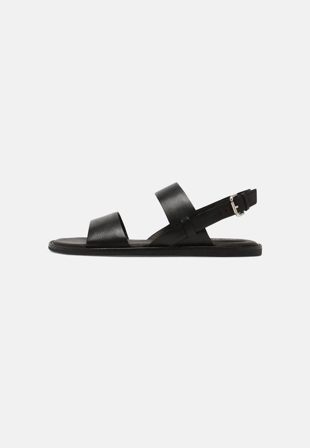 KARSEA STRAP - Sandały - black