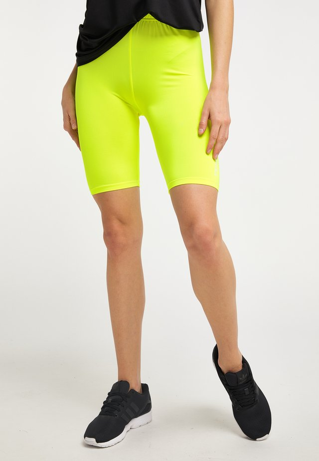 Shortsit - neon gelb