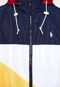 Polo Ralph Lauren - PACE FULL ZIP JACKET - Summer jacket - newport navy/yellow - 8