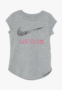 Nike Sportswear - TEE - Camiseta estampada - dark grey heather - 0