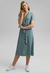 Esprit - Shirt dress - turquoise - 1