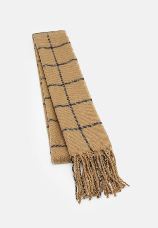 SCARF - Šála - camel
