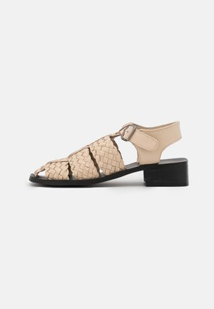 SHAY - Sandaalit nilkkaremmillä - bone