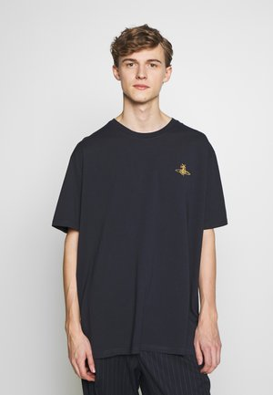 OVERSIZE - Basic T-shirt - navy