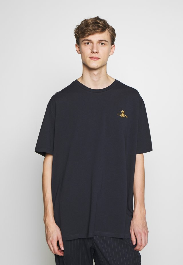 OVERSIZE - T-shirt basic - navy