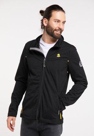 SCHMUDDELWEDDA FUNKTIONSJACKE - Outdoor jacket - schwarz