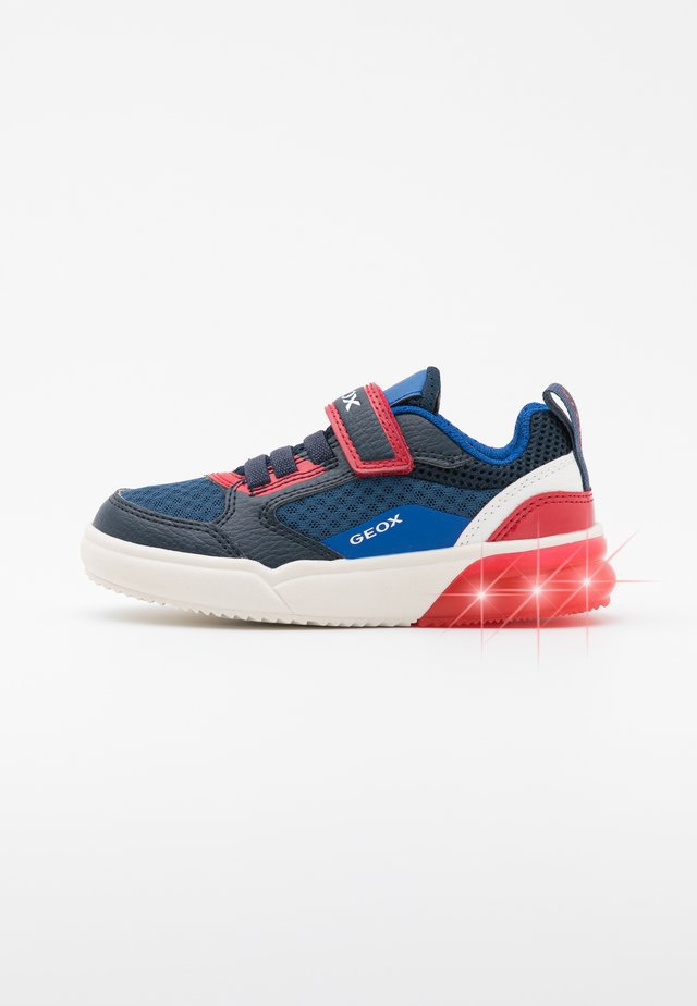 GRAYJAY BOY - Trainers - navy/red