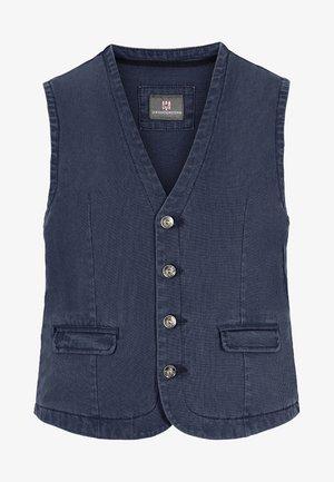 TORELL - Waistcoat - blau