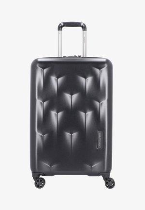 EDGE CARVE  - Wheeled suitcase - black