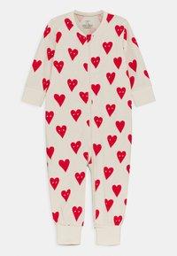 Lindex - HEART UNISEX - Pyjamas - beige - 0