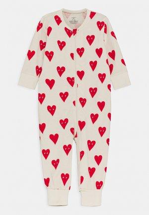 HEART UNISEX - Pyjamas - beige