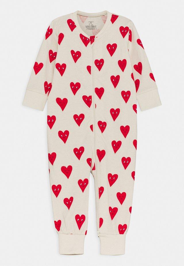HEART UNISEX - Pyjama - beige