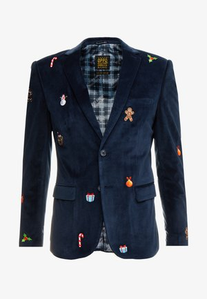 X-MAS ICONS - Blazer jacket - navy
